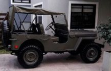 Jeep Willys CJ2 4x4 - 1946